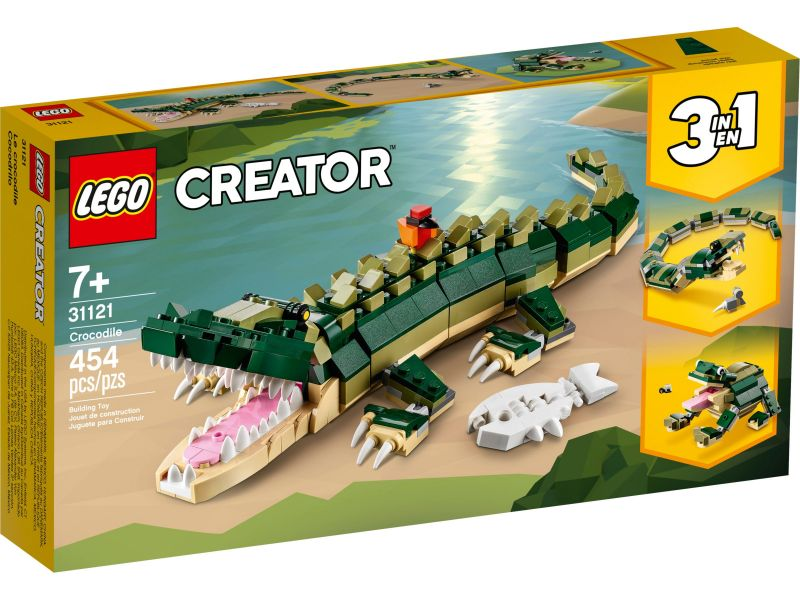 LEGO Creator 31121 Krokodil