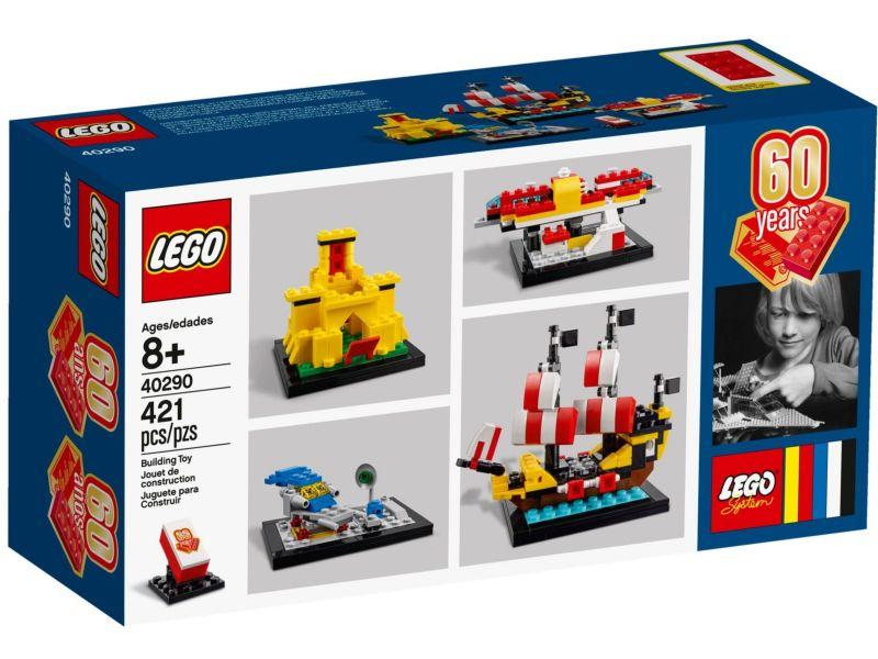 LEGO 40290 60 jaar collectors set