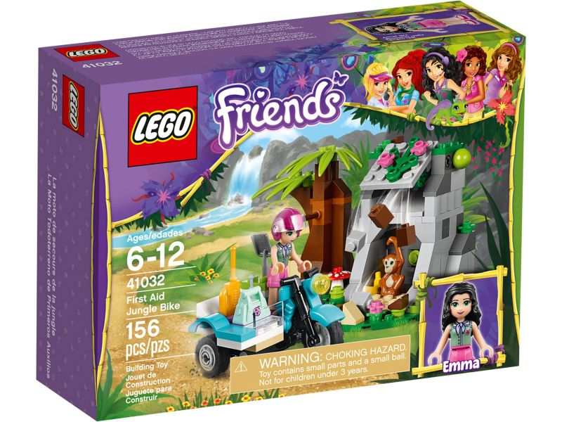 LEGO Friends 41032 Eerste Hulp Junglebike
