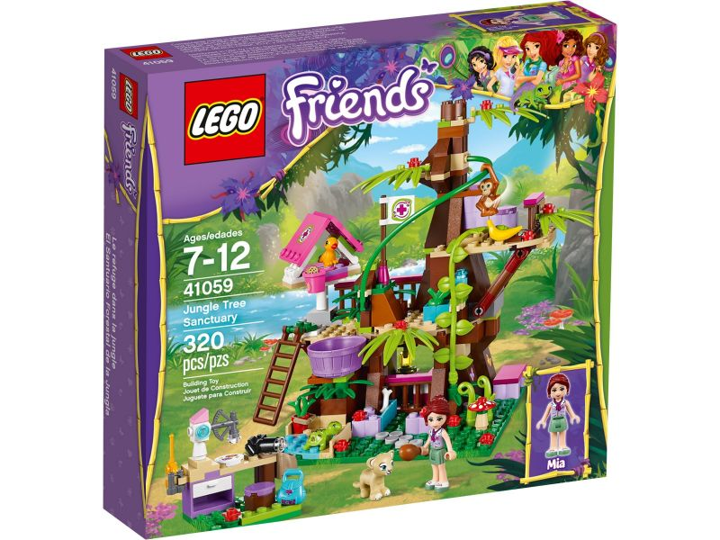 LEGO Friends 41059 Jungleboom schuilplaats