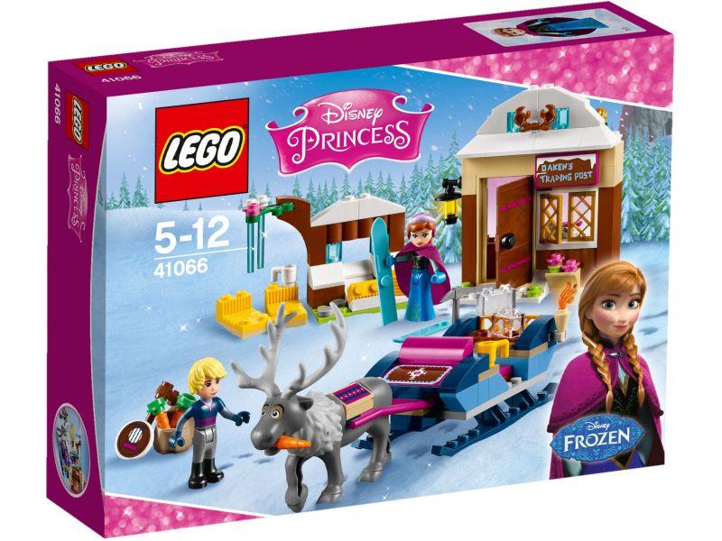 LEGO Disney Princess 41066 Slee-avontuur met Anna en Kristoff