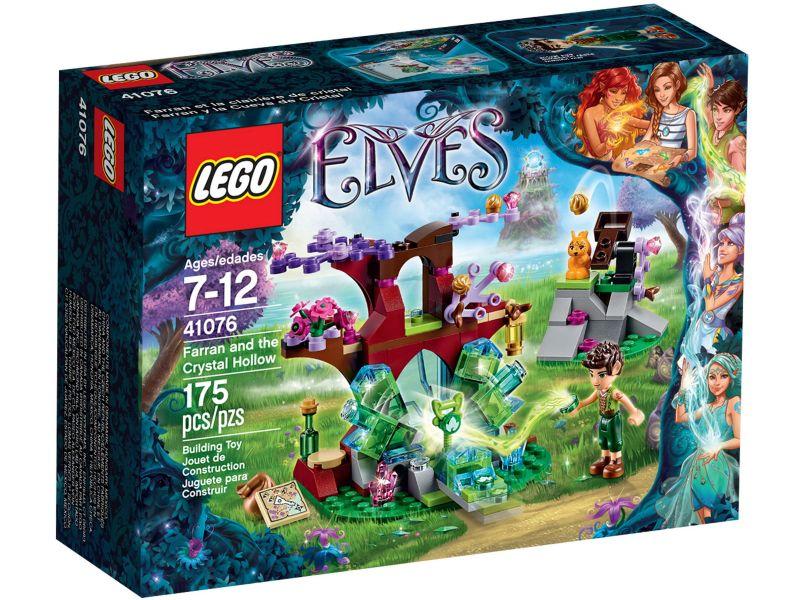 LEGO Elves 41076 Farran en de Kristalgrot
