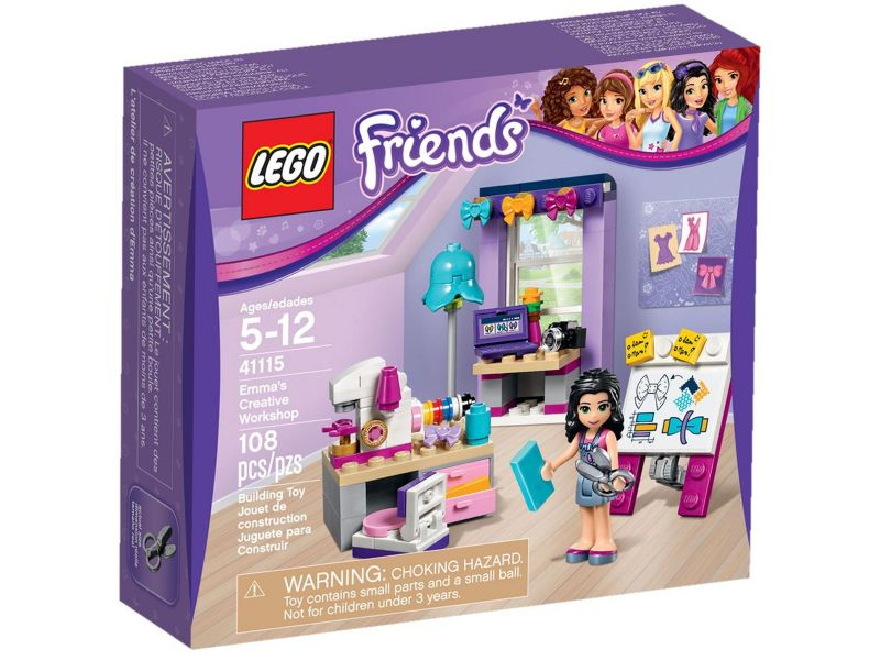 LEGO Friends 41115 Emma's Atelier