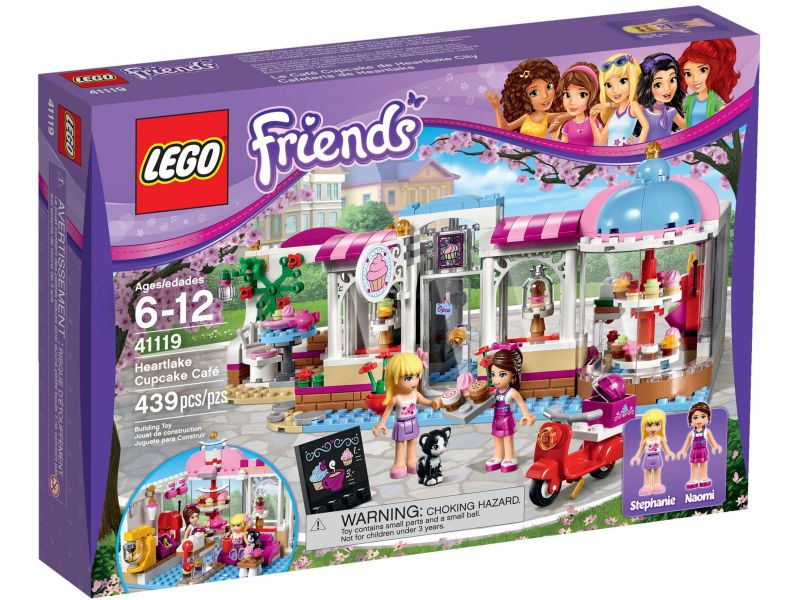 LEGO Friends 41119 Heartlake Cupcake Café