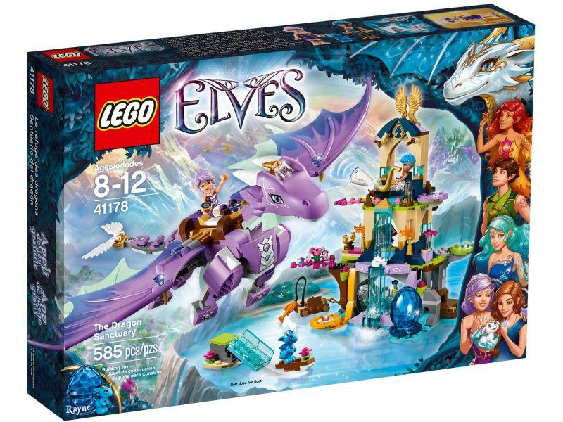 LEGO Elves 41178 Het Drakenreservaat