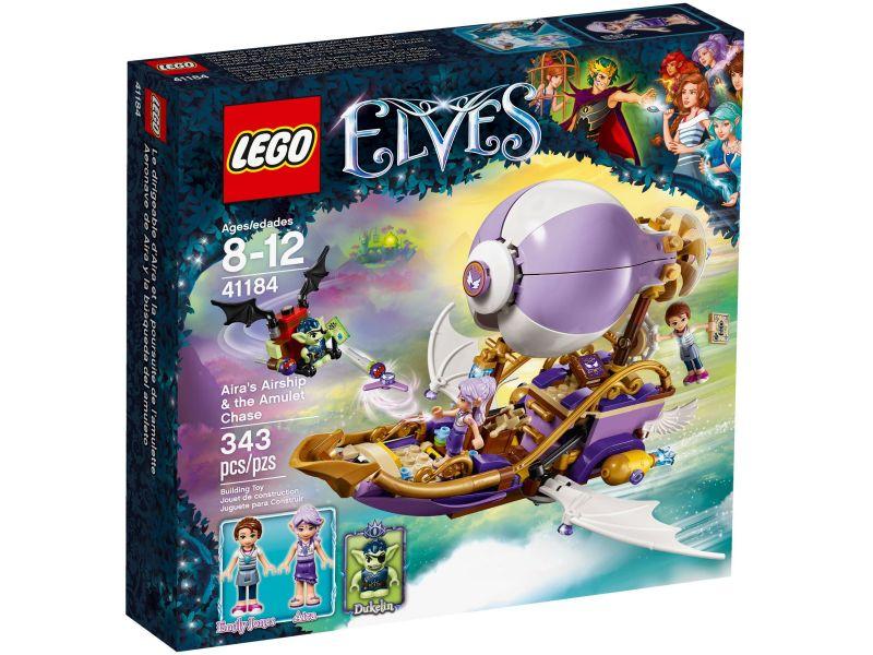 LEGO Elves 41184 Aira luchtschip en de jacht op het amulet