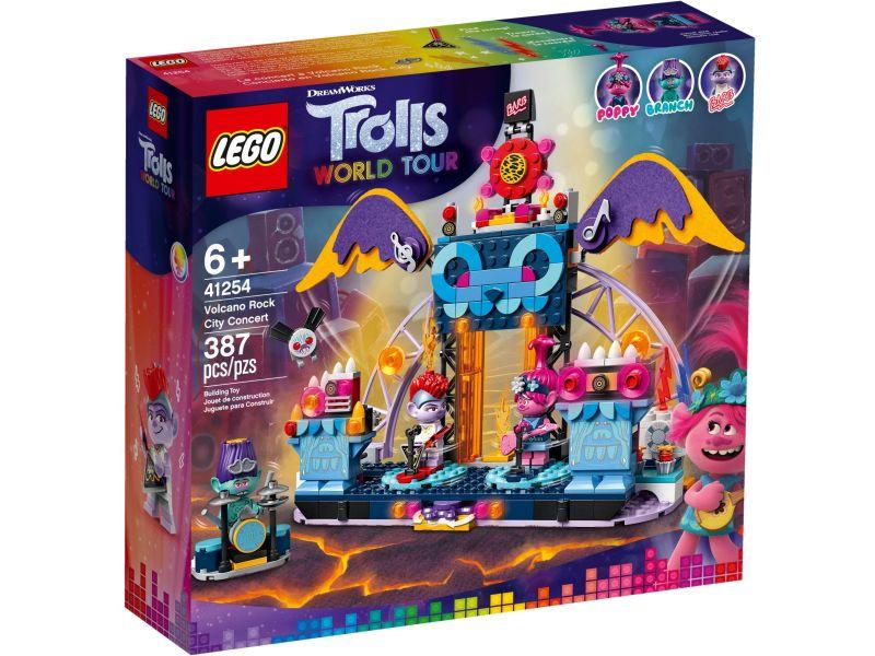 LEGO Trolls 41254 Volcano Rock City concert