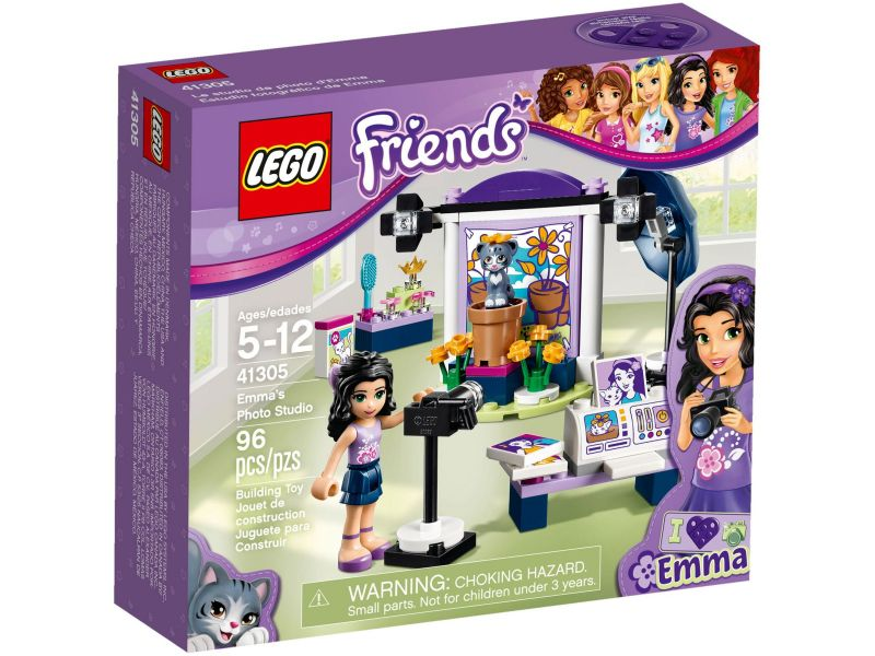 LEGO Friends 41305 Emma's fotostudio