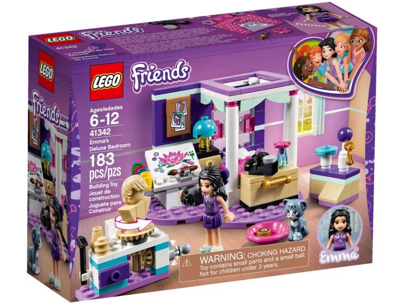 LEGO Friends 41342 Emma's slaapkamer