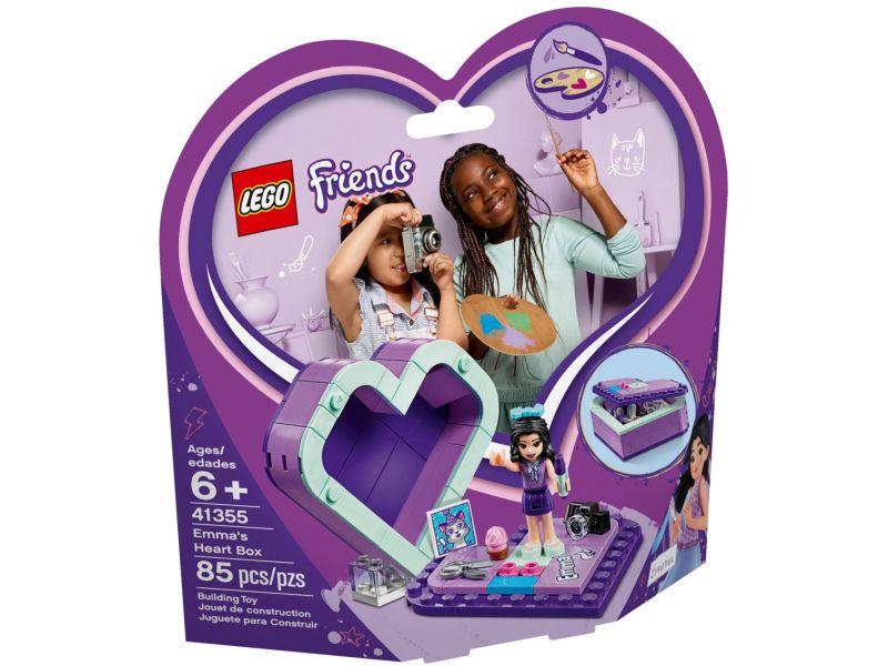 LEGO Friends 41355 Emma's hartvormige doos