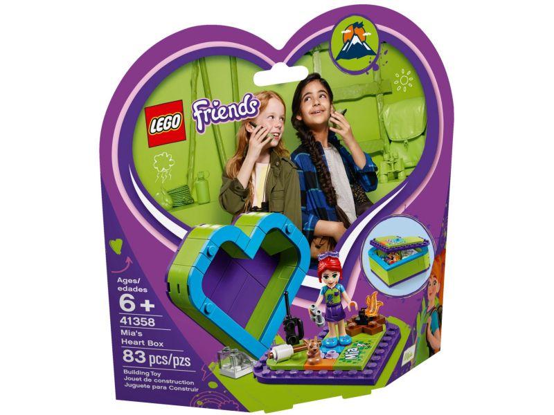 LEGO Friends 41358 Mia's hartvormige doos
