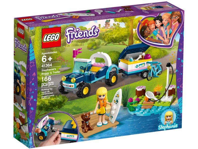 LEGO Friends 41364 Stephanie's buggy en aanhanger