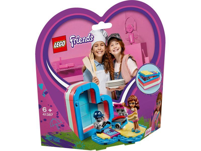 LEGO Friends 41387 Olivia's hartvormige zomerdoos