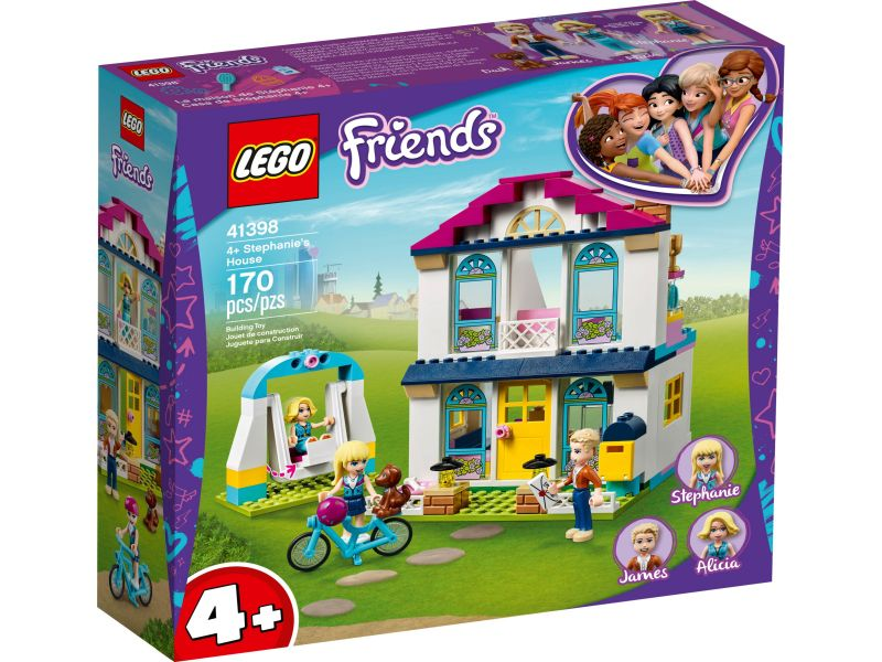 LEGO Friends 41398 Stephanie's Huis