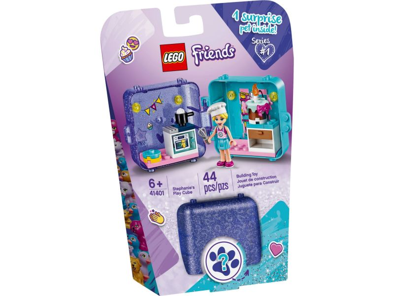 LEGO Friends 41401 Stephanies speelkubus