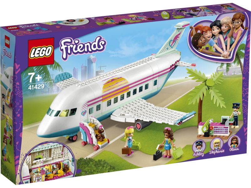 LEGO Friends 41429 Heartlake City vliegtuig
