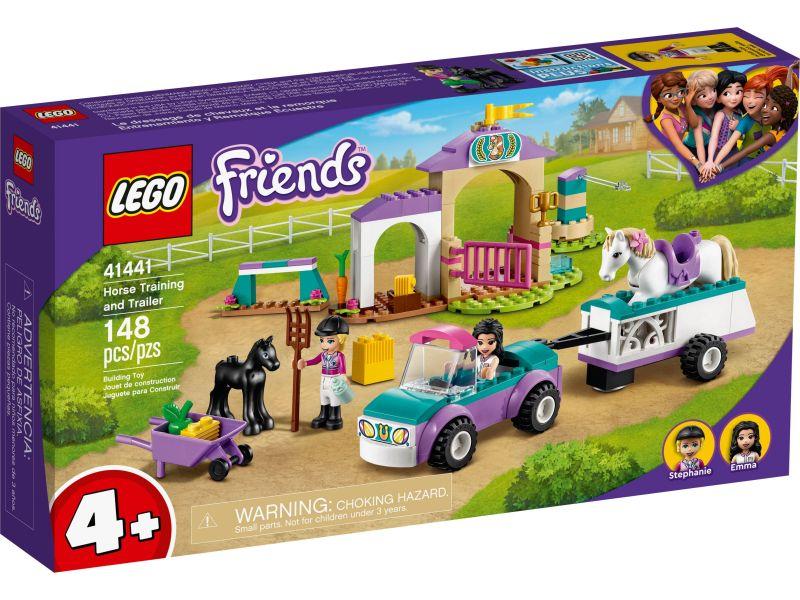 LEGO Friends 41441 Paardentraining en aanhanger