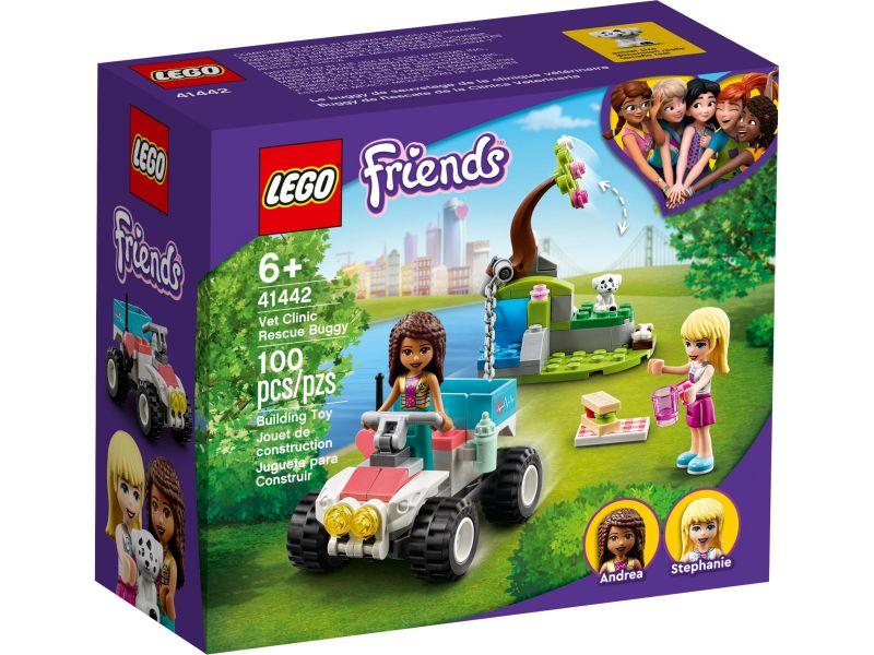 LEGO Friends 41442 Dierenkliniek reddingsbuggy
