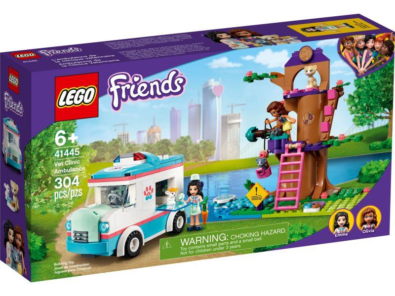 LEGO Friends 41445 Dierenambulance