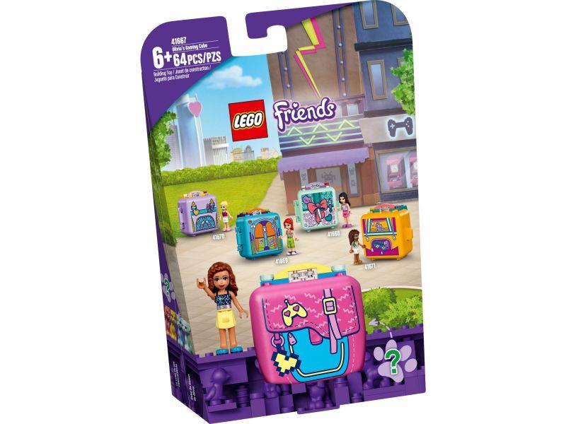 LEGO Friends 41667 Olivia's speelkubus