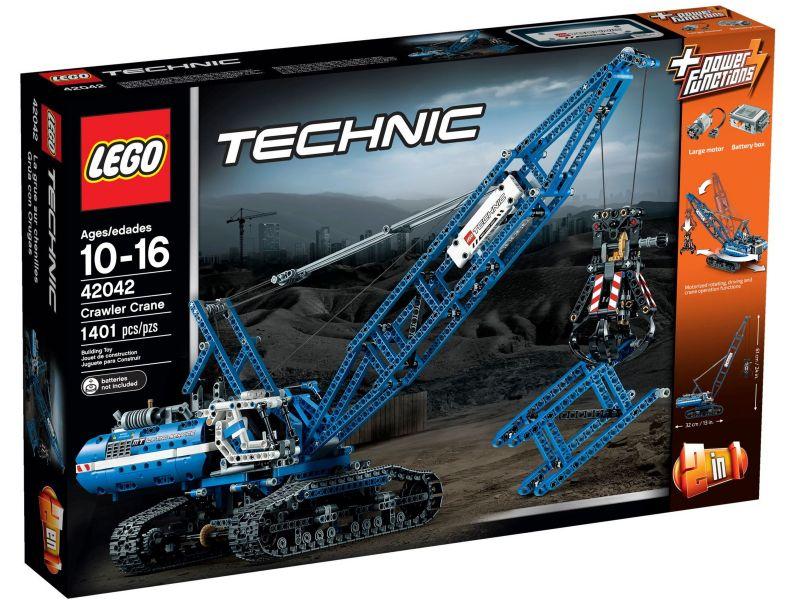 LEGO Technic 42042 Rupsband Kraan