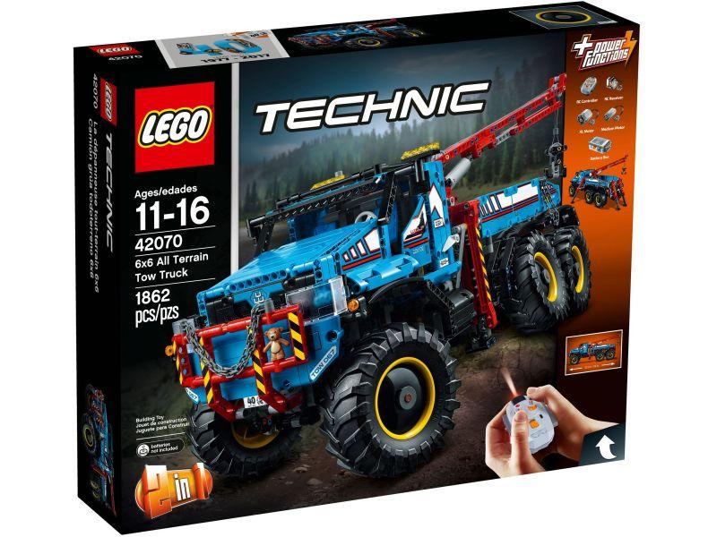 LEGO Technic 42070 6x6 Allterrain Sleepwagen