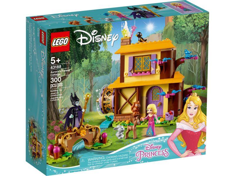 LEGO Disney 43188 Aurora's boshut