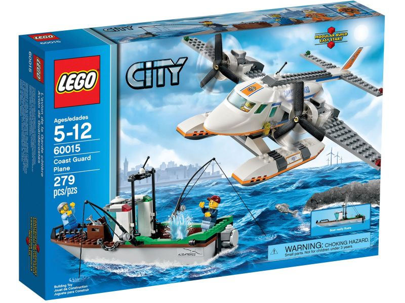 LEGO City 60015 Kustwacht vliegtuig