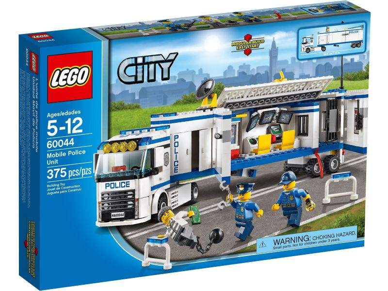 LEGO City 60044 Mobiele Politiepost