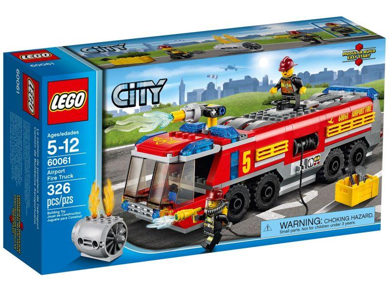 LEGO City 60061 Luchthaven Brandweerwagen