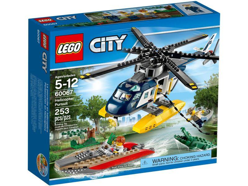 LEGO City 60067 Helikopter achtervolging