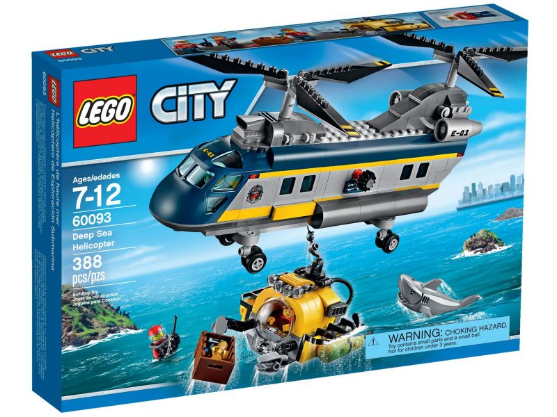 LEGO City 60093 Diepzee Helikopter