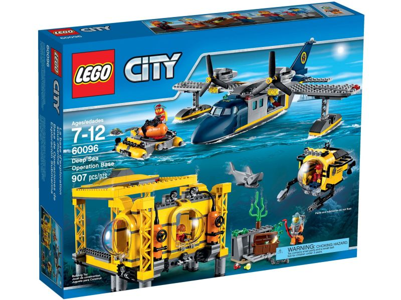 LEGO City 60096 Diepzee Basis