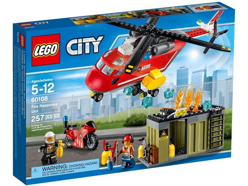 LEGO City 60108 Brandweer Inzetgroep