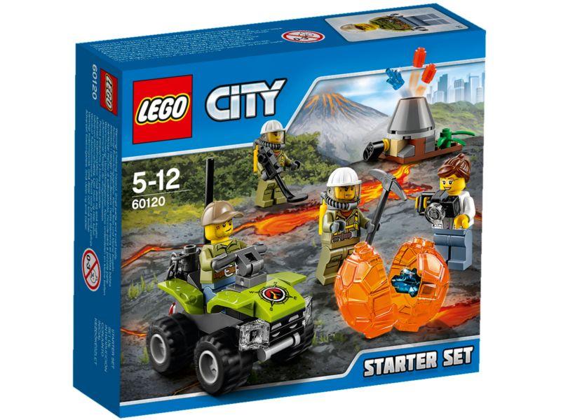 LEGO City 60120 Vulkaan Starterset