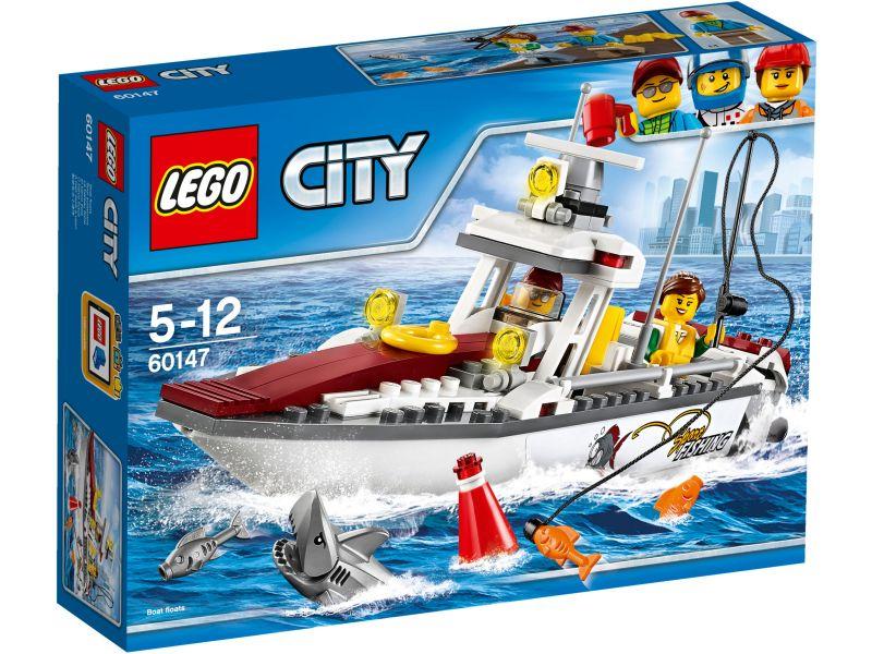 LEGO City 60147 Vissersboot