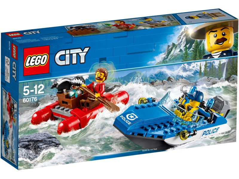 LEGO City 60176 Wilde rivierontsnapping