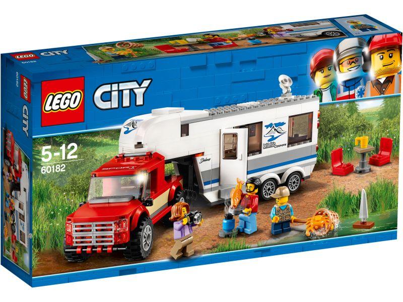 LEGO City 60182 Pick-uptruck en caravan