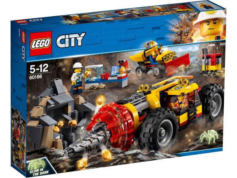 LEGO City 60186 Zware mijnbouwboor