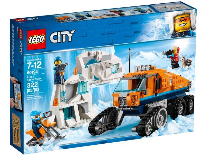 LEGO City 60194 Poolonderzoekstruck