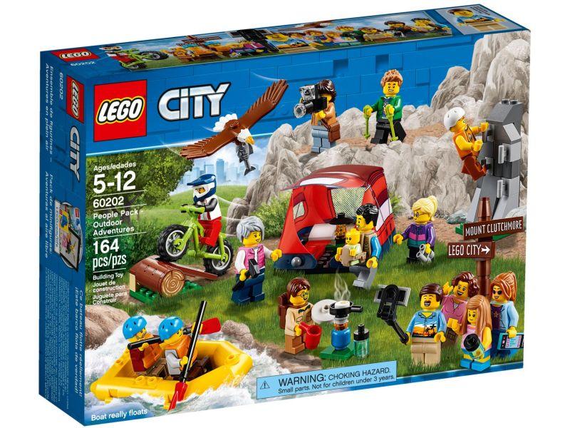 LEGO City 60202 Personenpakket - Buitenavonturen