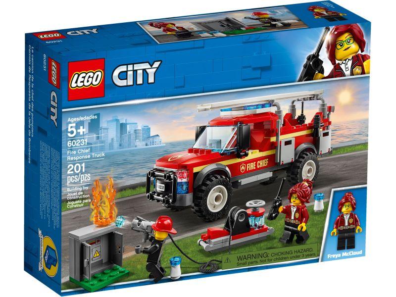 LEGO City 60231 Reddingswagen van de brandweercommandant