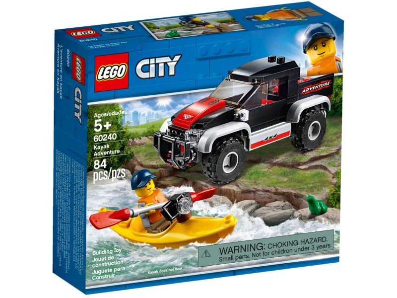 LEGO City 60240 Kajak avontuur