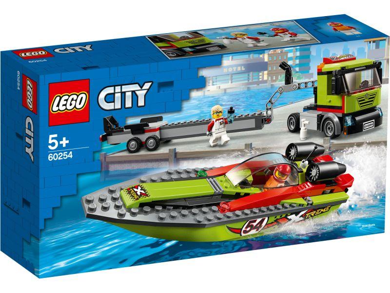 LEGO City 60254 Raceboottransport
