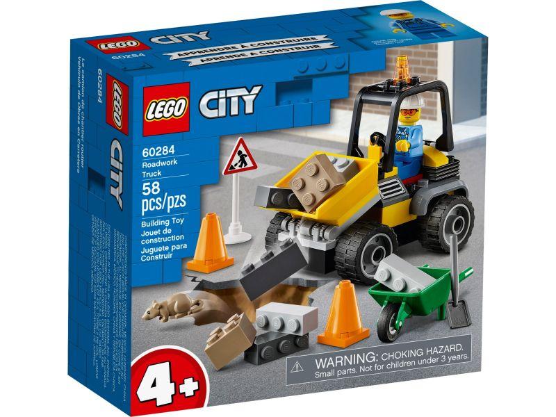 LEGO City 60284 Wegenbouwtruck