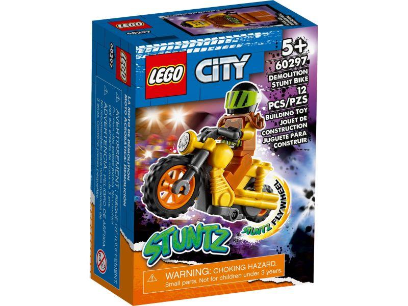 LEGO City 60297 Sloop stuntmotor