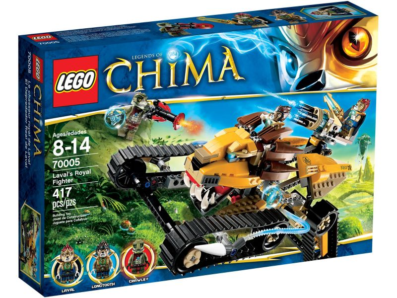 LEGO Chima 70005 Lavals Royal Fighter