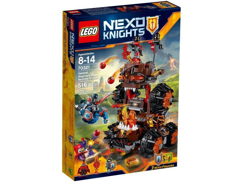 LEGO Nexo Knights 70321 Gerenaal Magmar Belegeringsmachine