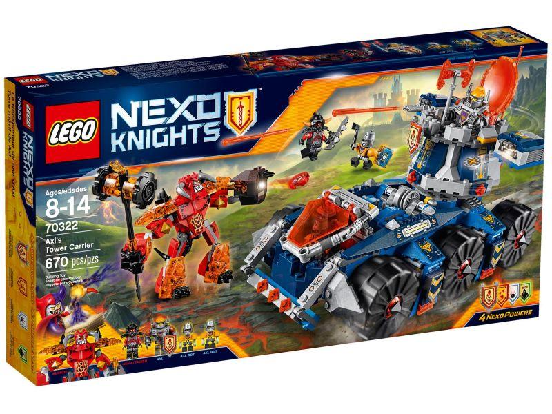 LEGO Nexo Knights 70322 Axl's Torentransport