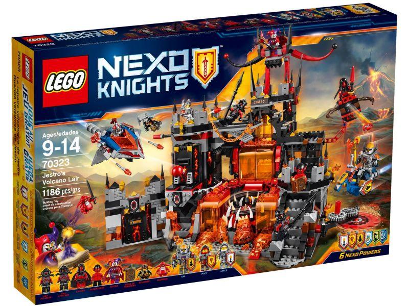 LEGO Nexo Knights 70323 Jestro's Vulkaanbasis